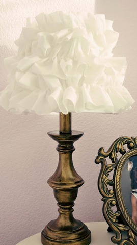 feature ruffle lamp
