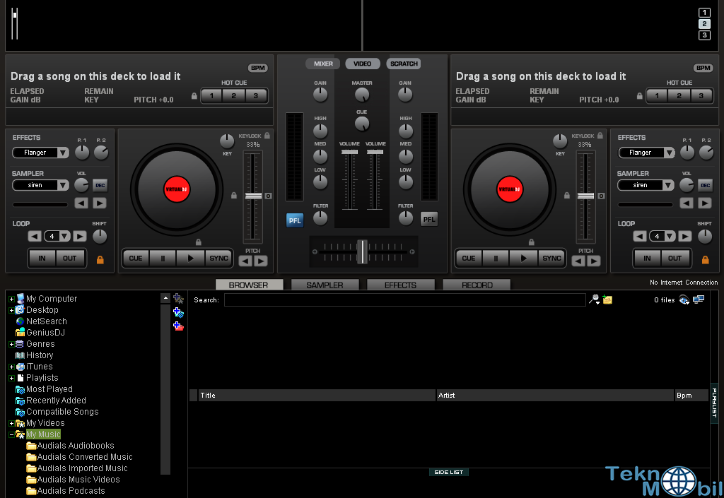 Virtual Dj Studio Pro v8.2.3994 Full İndir