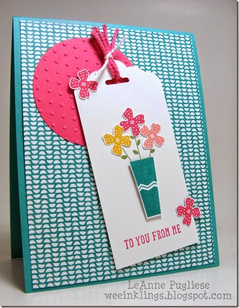 LeAnne Pugliese WeeInklings Pictogram Punches Stampin Up