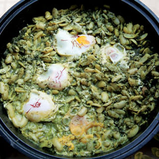 Baghali Ghatogh (Lima Beans with Eggs and Dill)