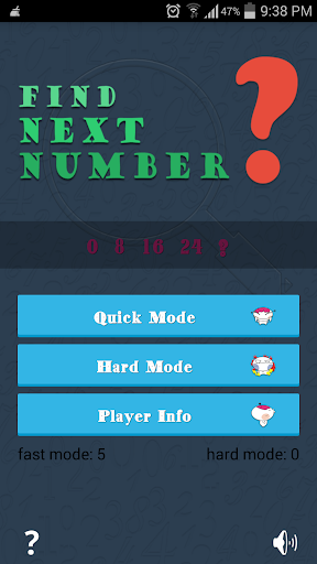 Find Next Number