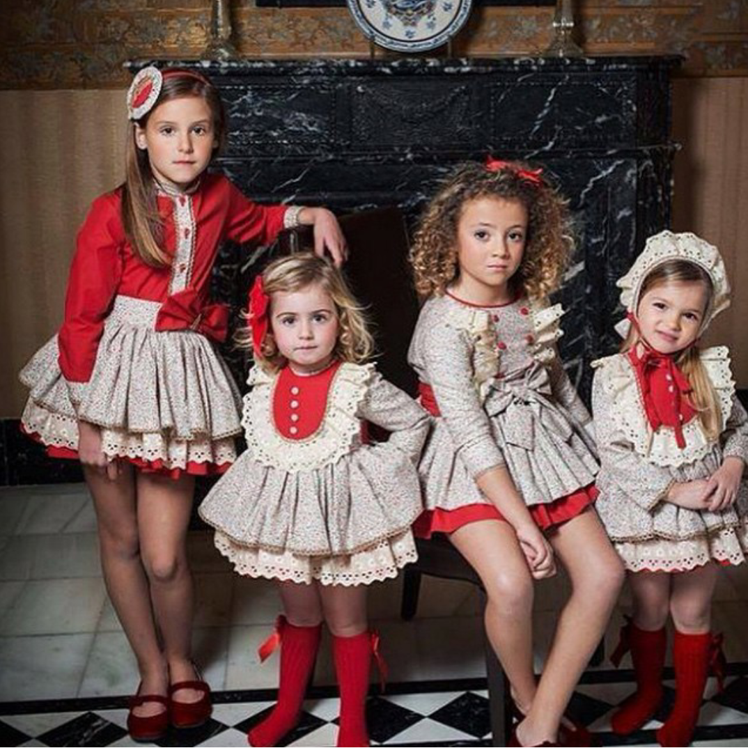 Best Christmas Danties: Dainty Delilah Traditional Childrens Wear: Christmas At