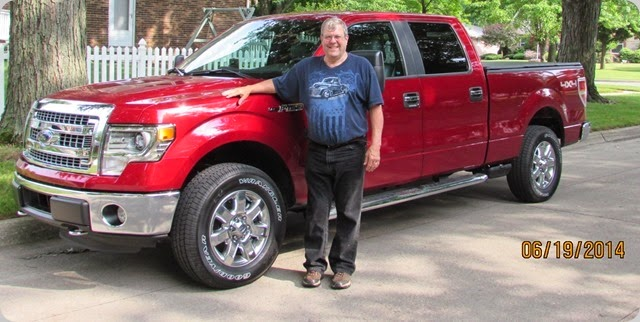 I am a proud owner of this New Ford F-150 XLT
