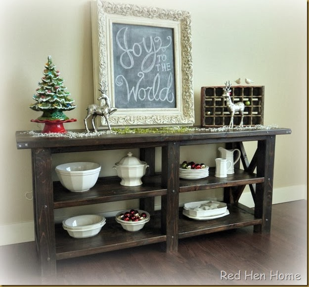 Red Hen Home Grand Rustic X Buffet 2