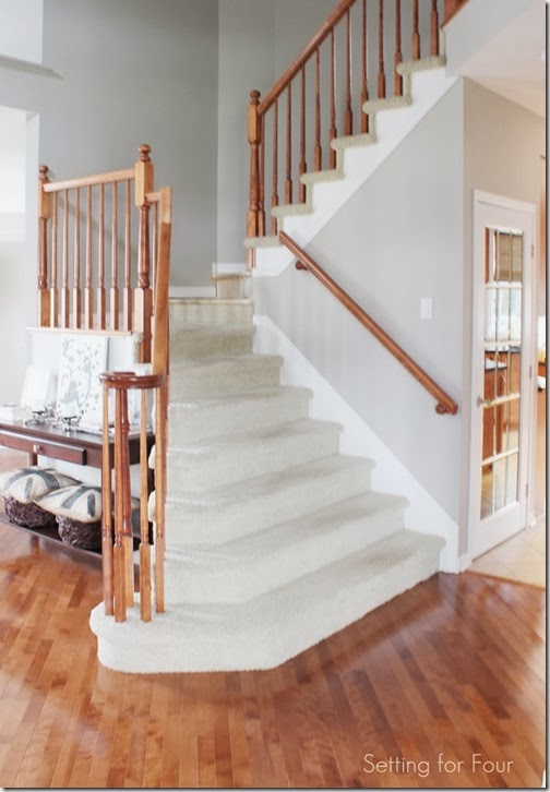 How To Makeover Your Stairs Tips To Replace Carpet And