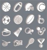 654260-series-of-icons-or-design-elements-relating-to-sports