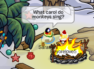 Lets Open Todays Door And Get Our Gift Theres A New One Every Day 12 Days Of FREE Gifts In Club Penguin
