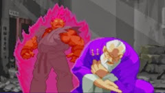 Street Fighter Alpha 2, Finais, Akuma