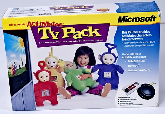 Toys - Teletubbies - Actimates - TV Pack