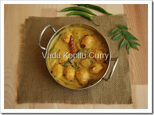 Vada Koottu Curry