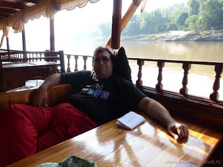 Relax Laos: croaziera pe Mekong