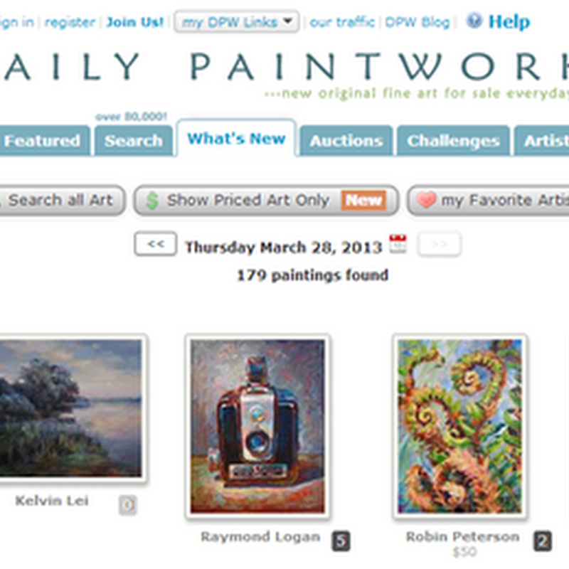 Daily Paintworks Review and Features - Sell Original Art