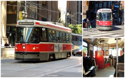Streetcar collage