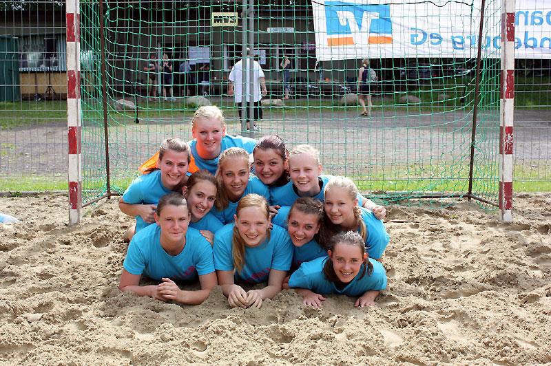 Weibliche B-Jugend der HSG Badenstedt
