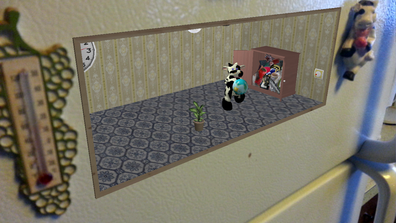 Vookie: AR Cow- screenshot