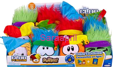Puffle Plush 4 Inch Series 12 :)