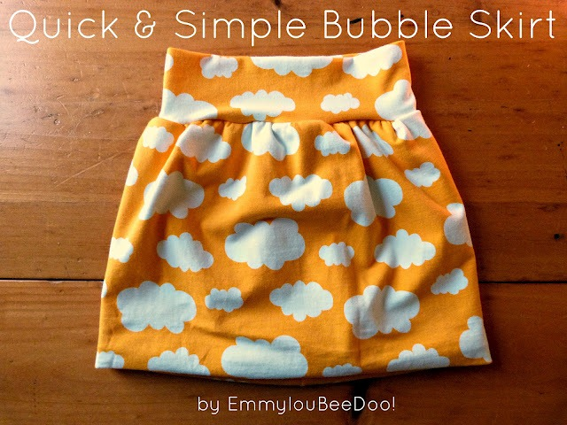 feature bubble skirt
