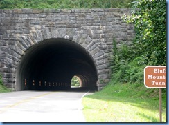 1033 Virginia - Blue Ridge Parkway North - Bluff Mountain Tunnel