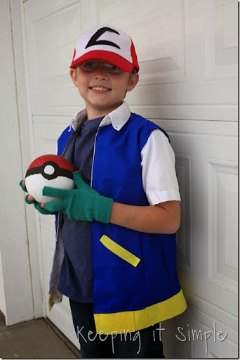 DIY Pokemon Ash Costume (10)  sc 1 st  Keeping it Simple Crafts : diy pokemon costumes  - Germanpascual.Com