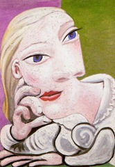 Pablo Picasso - Marie Therese Leaning on One Elbow - 1939