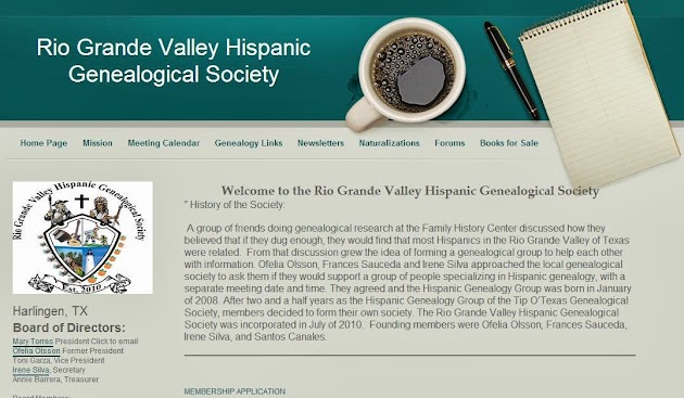 Rio Grande Valley Hispanic Genealogical Society.JPG