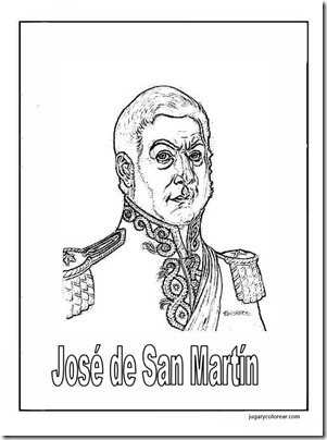 El general José Francisco de San Martín