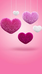 Fluffy Hearts Live Wallpaper- screenshot thumbnail