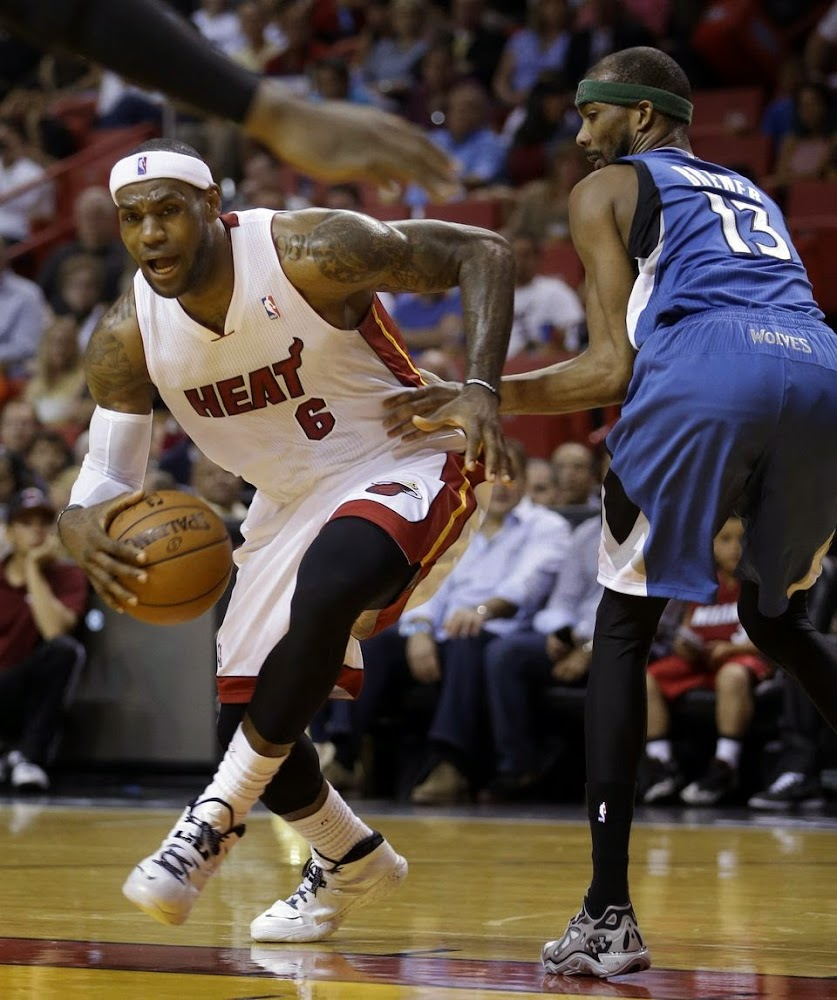 26aa0dc6488a LeBron James Adds White and Black Soldier 7 to His Repertoire