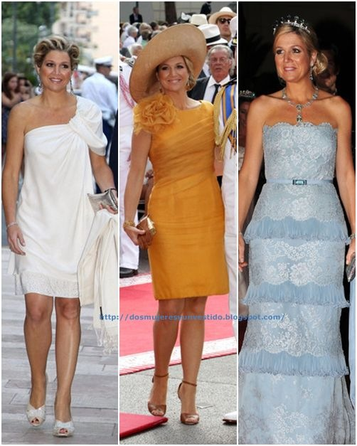 Princess Maxima Monaco Royal Wedding