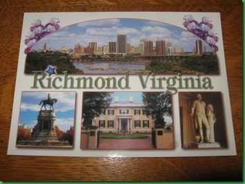 Richmond postcard