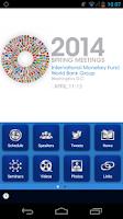 Screenshot of World Bank/IMF Annual Meetings
