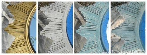 drybrushing paint layers