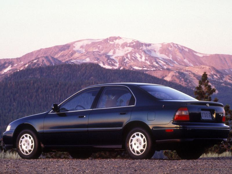 1996 Honda Accord Sedan Specifications, Pictures, Prices