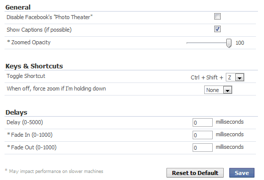 fb photo zoom settings