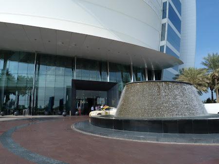 Obiective turistice Dubai: intrare Burj