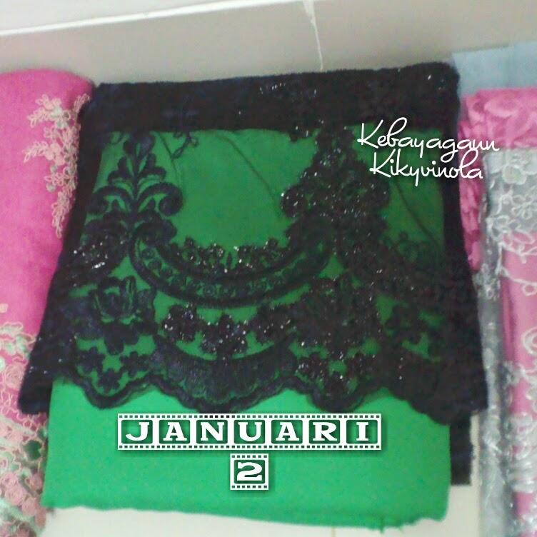 Hijab Boutique By Kiky Vinola: Bahan Kebaya Gaun Januari
