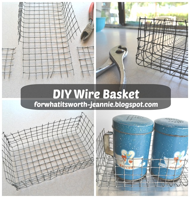 diy wire basket for what it s worth