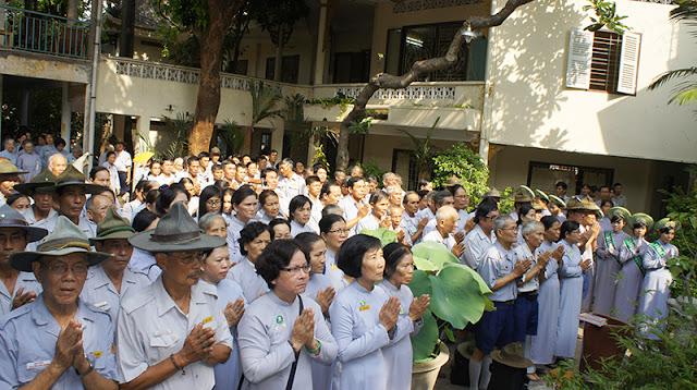 DSC06302 Lễ Hiệp kỵ   Lễ Huý Nhật Cư sĩ Sáng lập viên GĐPT Việt Nam   Tâm Minh Lê Đình Thám