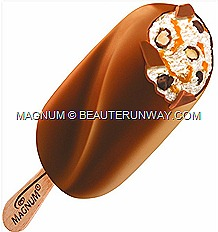 Magnum Temptation Hazelnut new syrup chocolate bonbons hazelnut sauce caramelised hazelnut pieces vanilla ice cream
