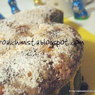 Moist Colomba Easter Cake.