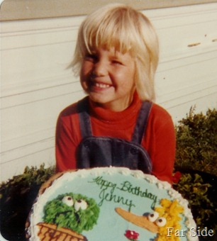 Jens Birthday Cookie.  1979 maybe