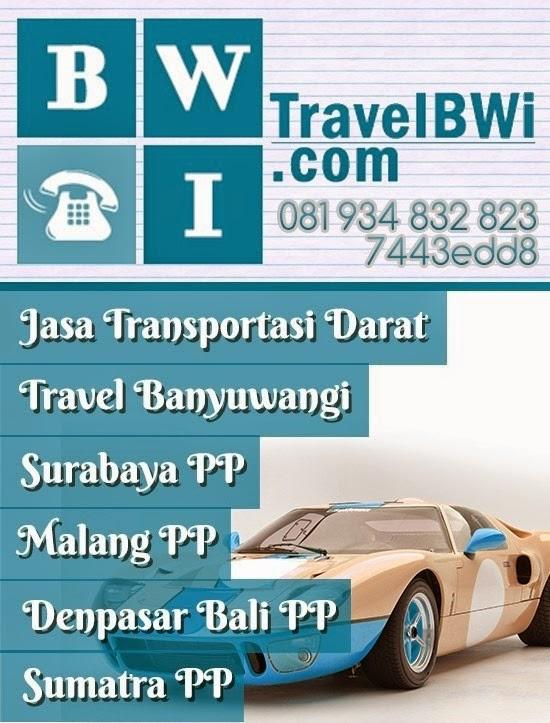 Poster Travel Banyuwangi Malang Surabaya Denpasar Bali Sumatra PP