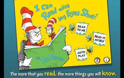 I Can Read with my Eyes Shut - screenshot thumbnail