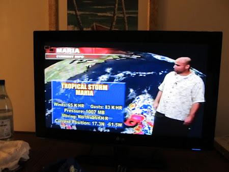 Prognoza uragane la Weather Channel Caraibe