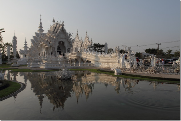 Reflections of the White Temple, Chiang Rai