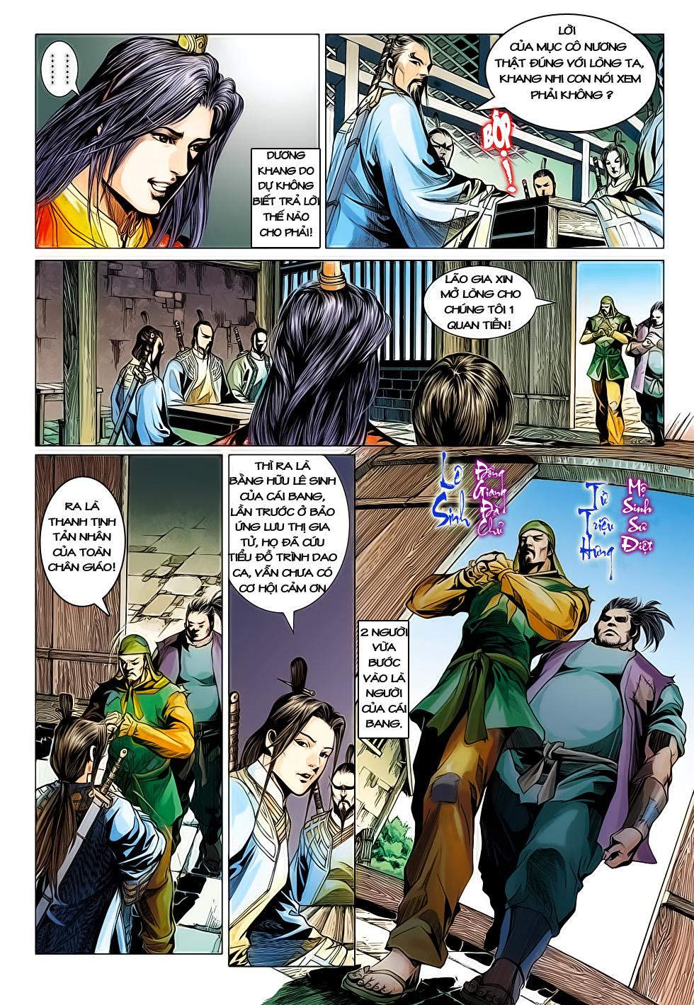 Anh Hùng Xạ Điêu anh hùng xạ đêu chap 61: thất tử chiến thiết thi trang 16