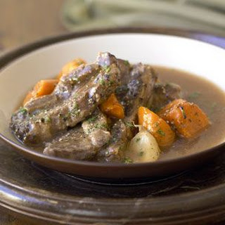 Braised Short Ribs with Carrots and Cumin.