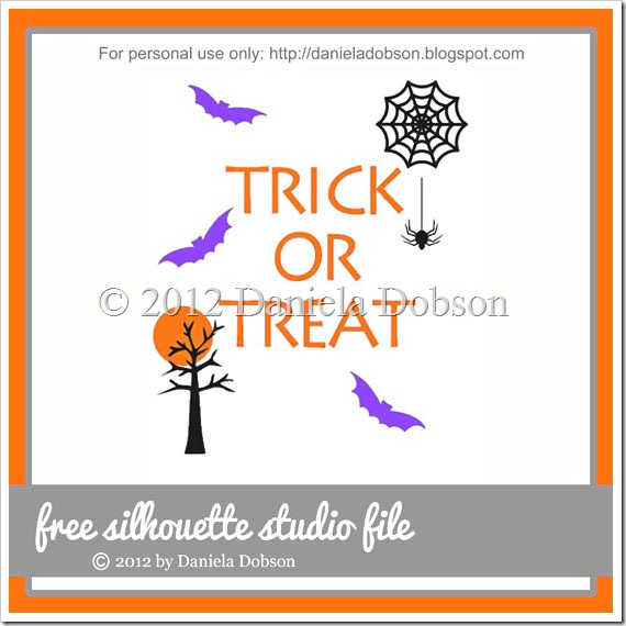 Trick or treat collection by Daniela Dobson