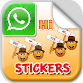 Hi and Bye Stickers