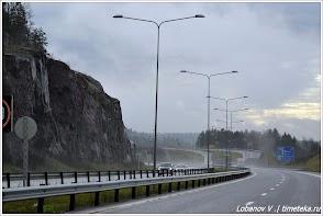Дорога из Норвегии в Швецию.